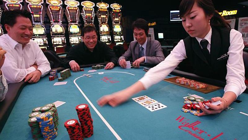 在中國賭博